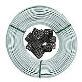 Brabantia Cuerda de Recambio para tendedero, Gris, 65 Metros