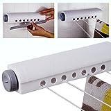 Guilty Gadgets - Tendedero retráctil para Ropa (14 m, 4 líneas)