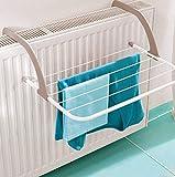 Gagitech Radiator Airer - Tendedero para radiador (5 barras ajustables, temperatura máxima de 70...